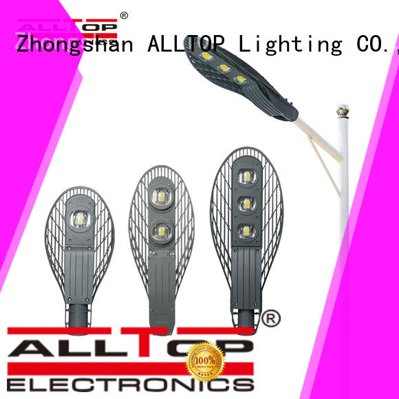 aluminum alloy street light manufacturers manufacturer for park ALLTOP