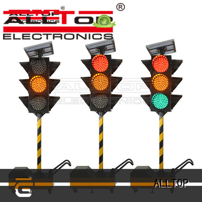 ALLTOP double side traffic light sign portable for hospital