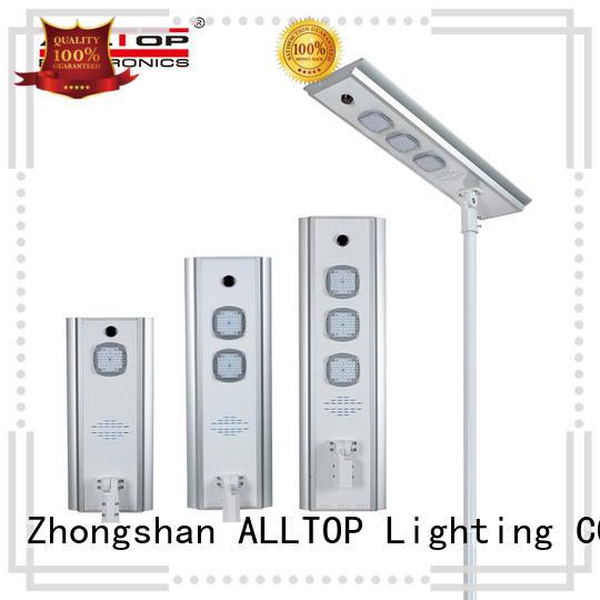 adjustable all in one solar street light factory manufacturer for highway