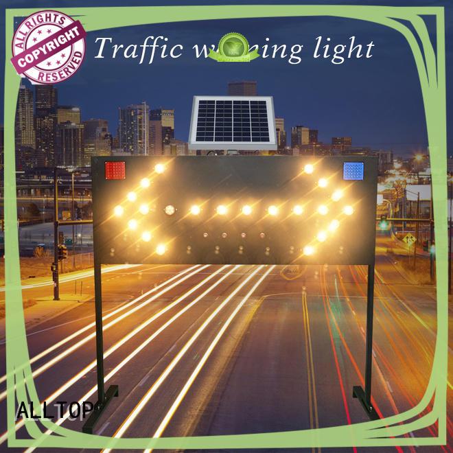 signal solar powered traffic lights led for hospital ALLTOP