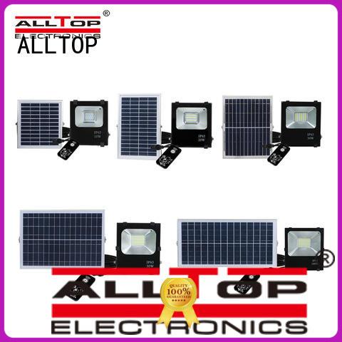 ALLTOP solar floodlight popular for stadium