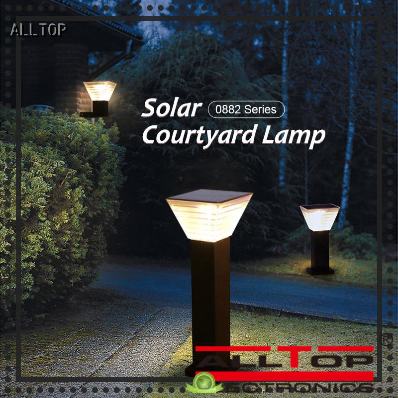 ALLTOP high quality solar powered patio lights classical for decoration