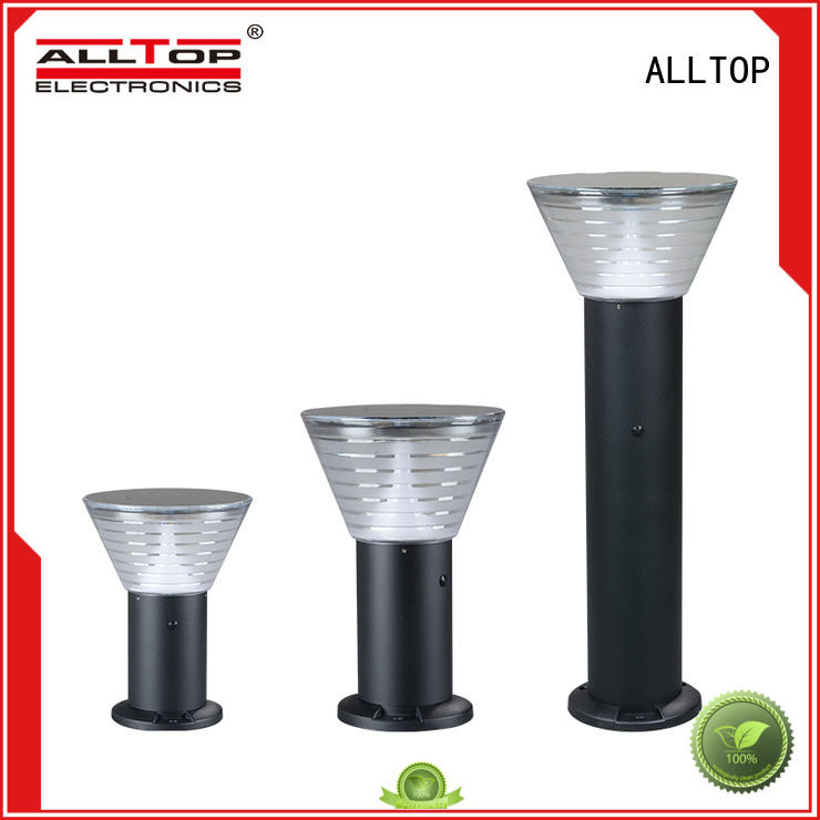high quality solar pillar lights supplier for decoration