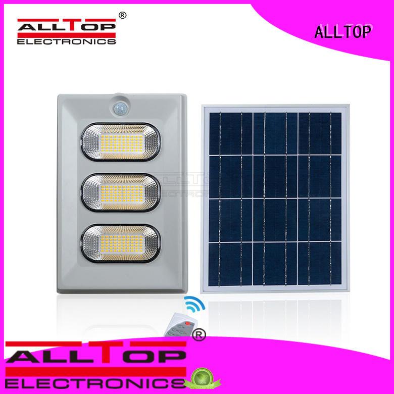 ip65 quality ALLTOP Brand solar flood light kit