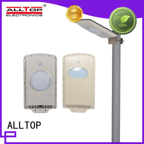 ALLTOP waterproof solar powered street lights motion for highway