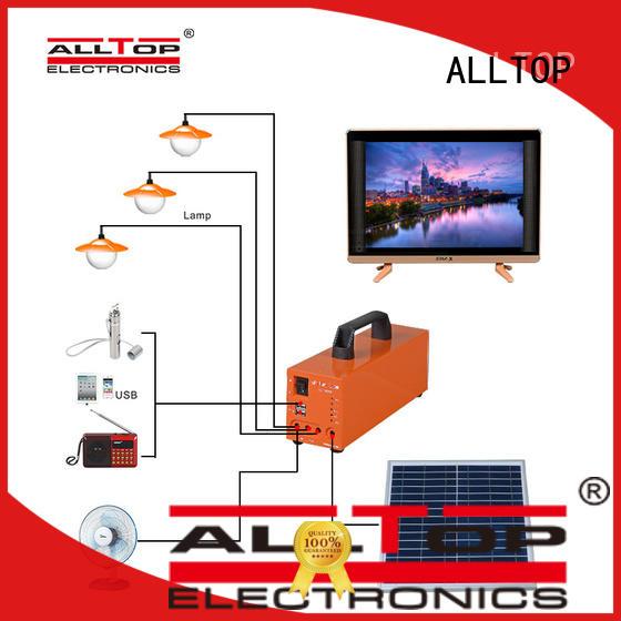 indoor solar lighting system emergency for outdoor lighting ALLTOP