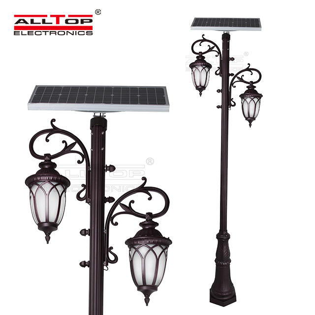 energy saving solar pillar lights supply for decoration-1