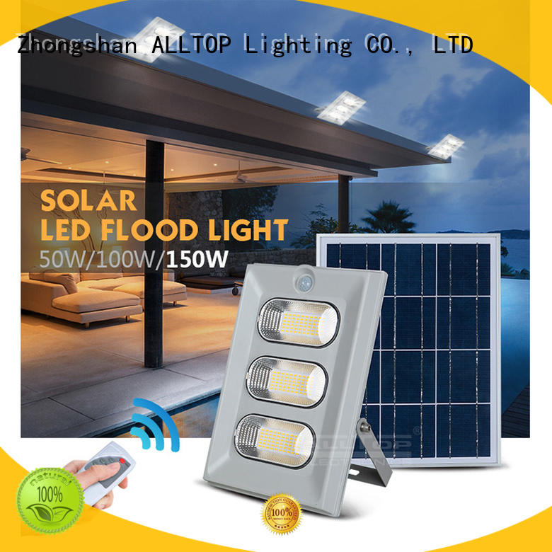 light led integrated ALLTOP Brand all in one solar street lights factory