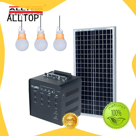 ALLTOP solar dc lighting system on-sale for camping