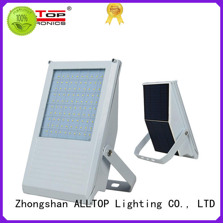 ALLTOP square solar sensor flood lights aluminum alloy for spotlight