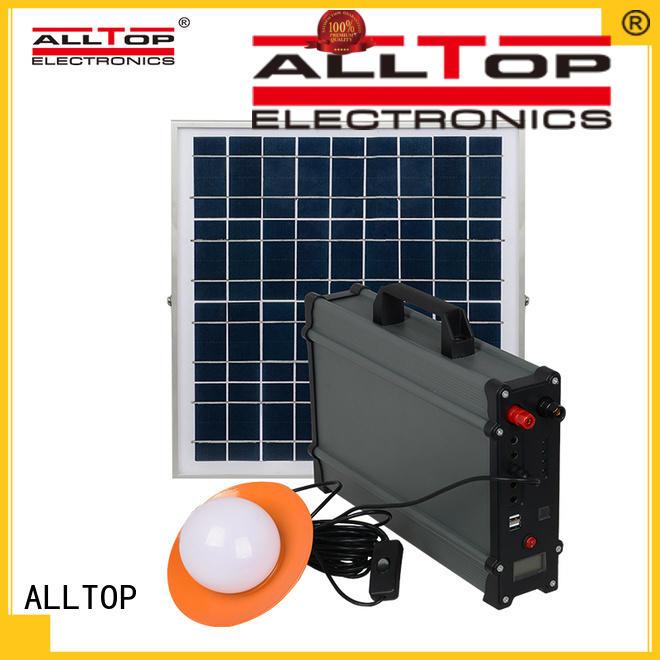 ALLTOP solar lighting system by-bulk for battery backup