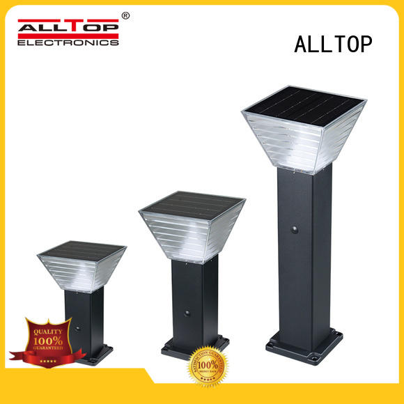 classical cheap solar garden lights main gate for landscape ALLTOP