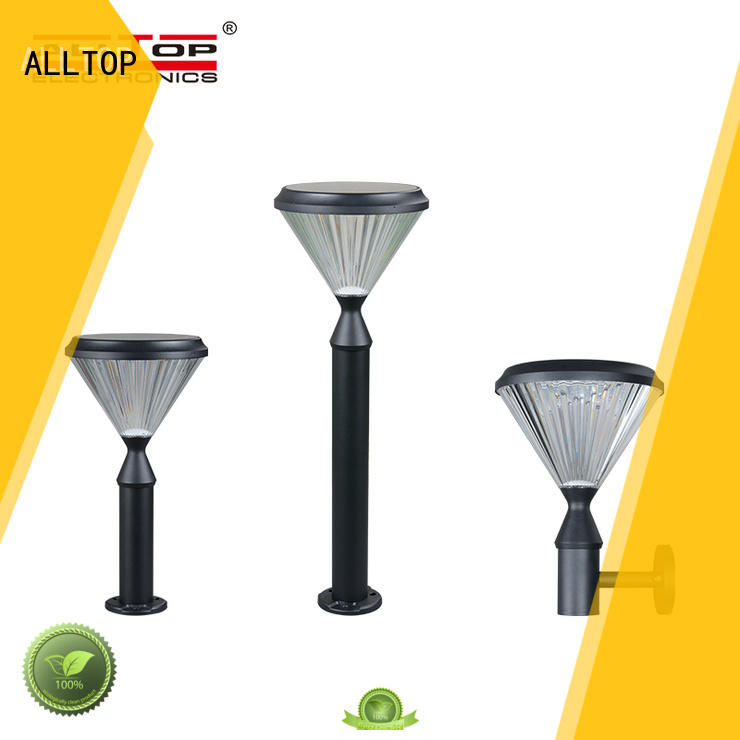 integrated solar powered yard lights supplier for decoration ALLTOP