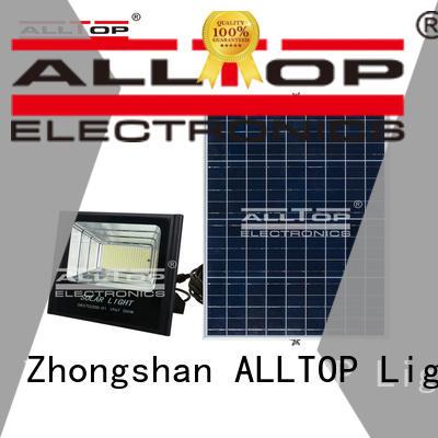 ALLTOP square best solar flood lights outdoor brightness for stadium