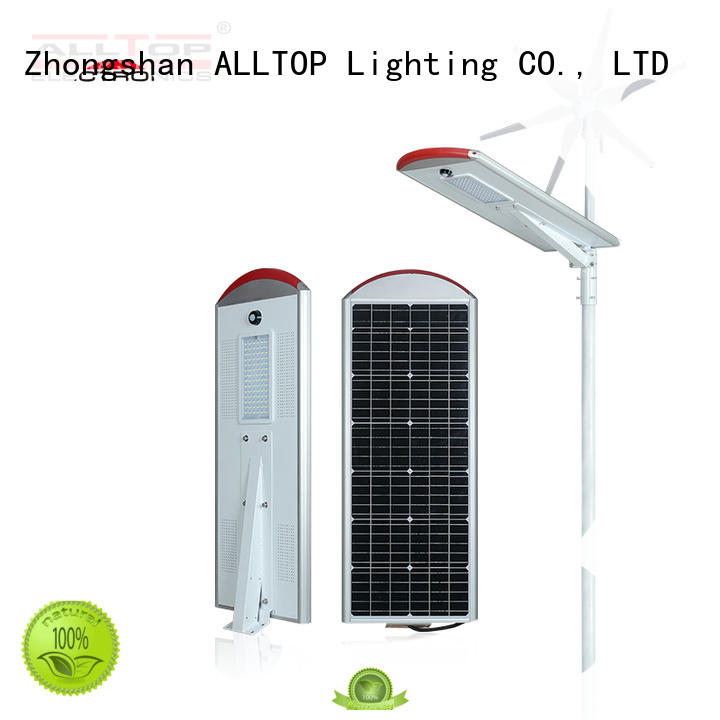 20w solar street light shining rightness for playground ALLTOP