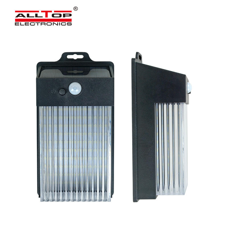 ALLTOP energy-saving solar wall sconce wide usage for street lighting-1