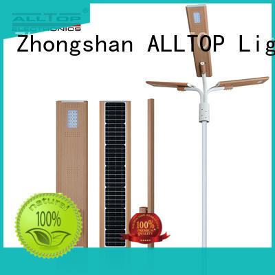 flood solar pole lights free sample for highway ALLTOP