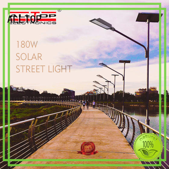 ALLTOP energy-saving best solar street lights free sample for garden