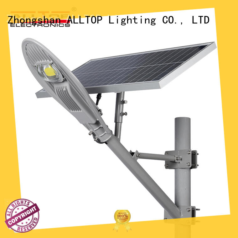ALLTOP solar led street light latest design for lamp