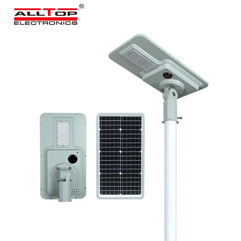ALLTOP solar pole lights with good price for road-1