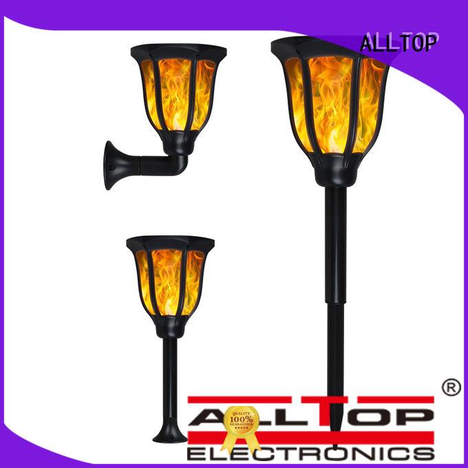 outdoor classical led ALLTOP Brand solar pillar lights