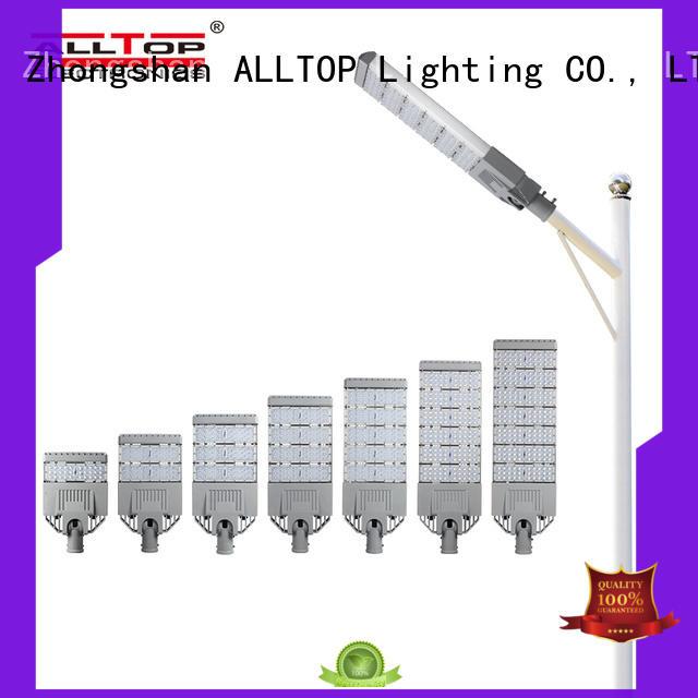 ALLTOP luminary automatic solar street light pricelist factory for facility