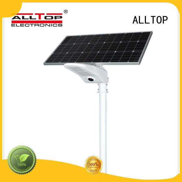 all-top solar led street light manufacturers motion sensor for outdoor yard ALLTOP