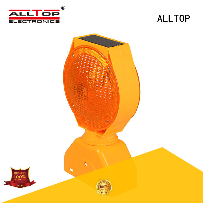 ALLTOP signal solar traffic blinker led for hospital