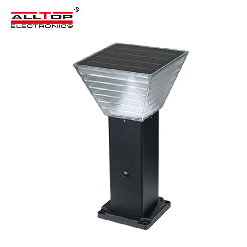 ALLTOP outdoor 5 watt intergrated all in one led solar garden light-2