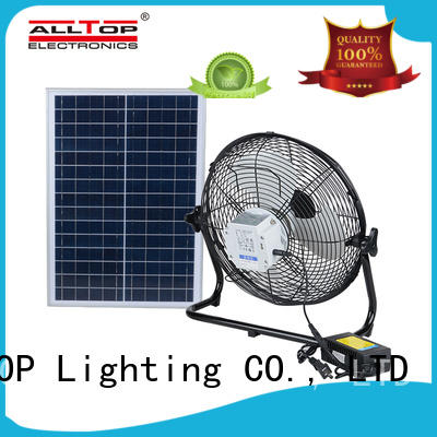 ALLTOP portable solar led lighting system free sample for battery backup
