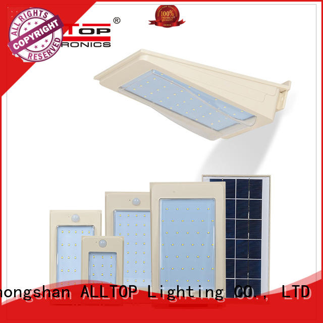 solar wall lights washer for garden ALLTOP