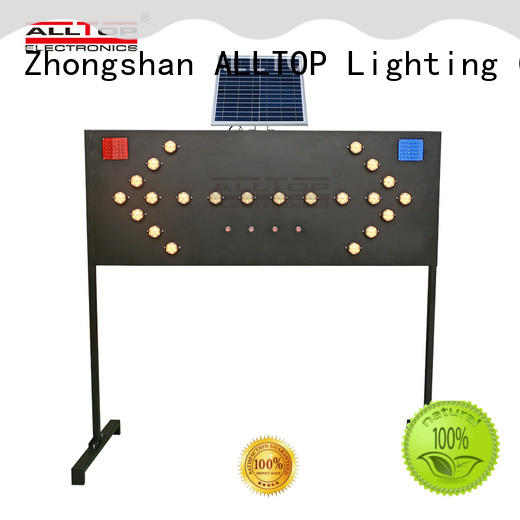 double side solar traffic signal directly sale for police
