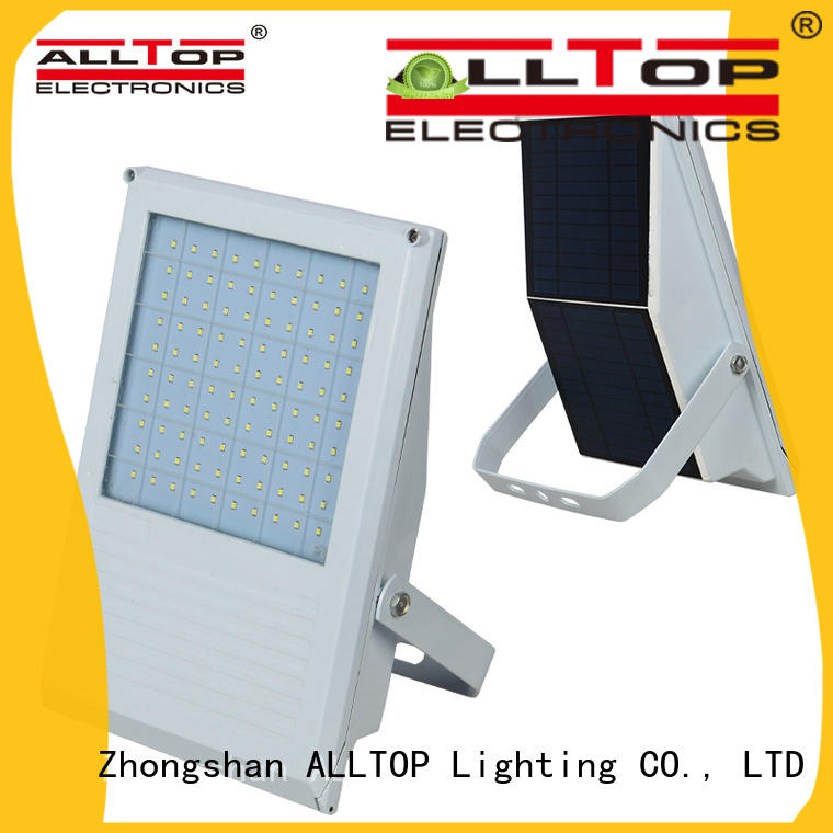 ALLTOP square solar floodlight modern for stadium