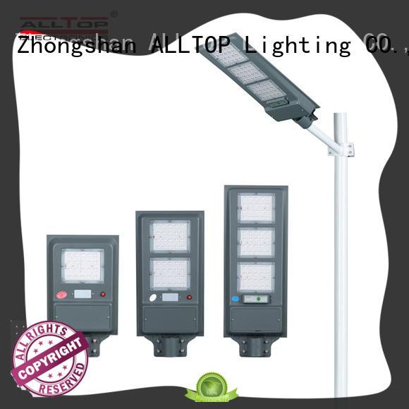 solar pole lights motion for road ALLTOP