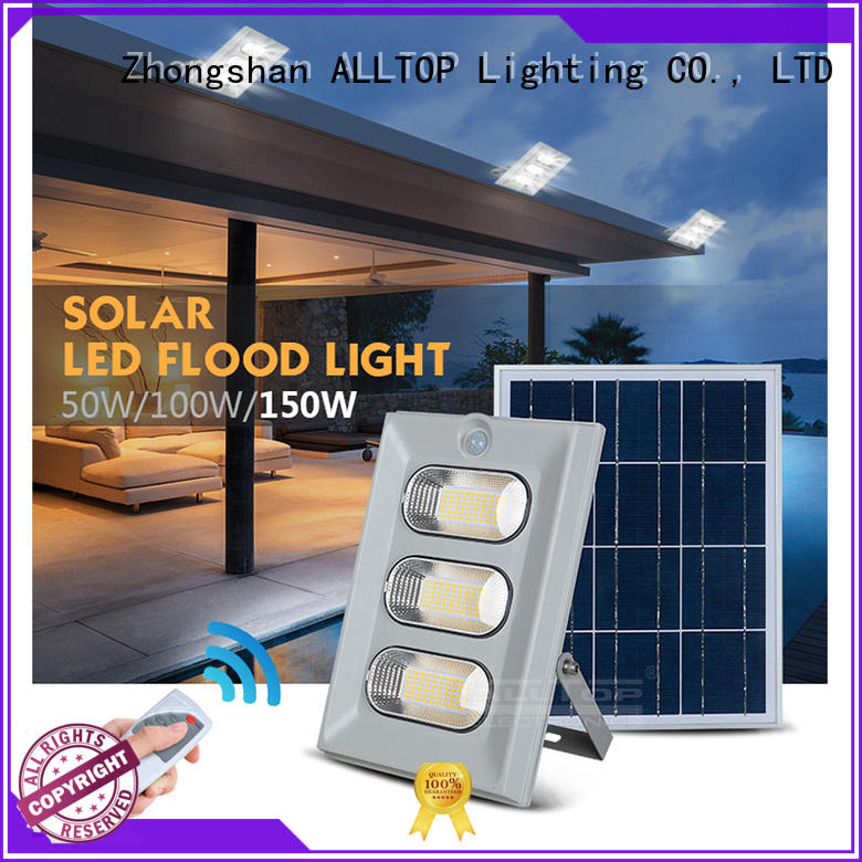 sensor all in one solar light motion for highway ALLTOP