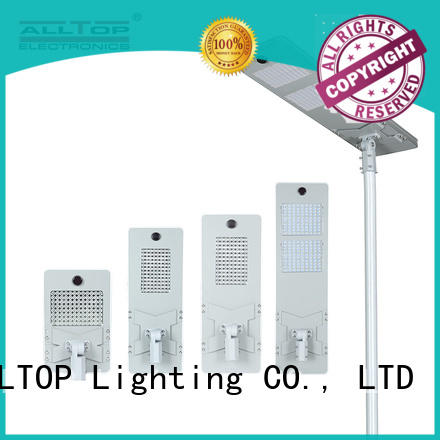 ALLTOP solar pole lights factory price for highway