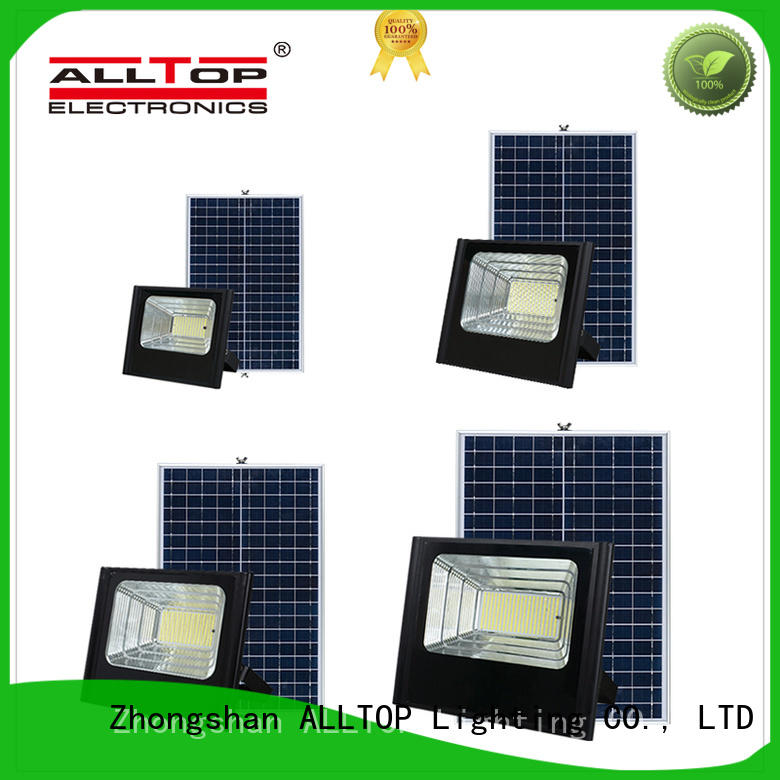 waterproof solar powered flood lights outdoor aluminum alloy for stadium ALLTOP