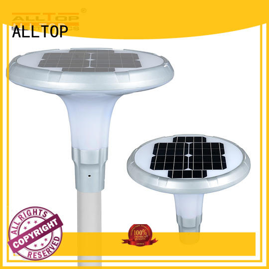 ALLTOP 20w solar street light shining rightness for playground