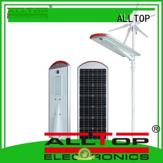 ALLTOP 30w solar street light series for landscape