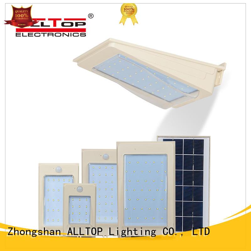 ALLTOP solar wall lights wholesale for street lighting