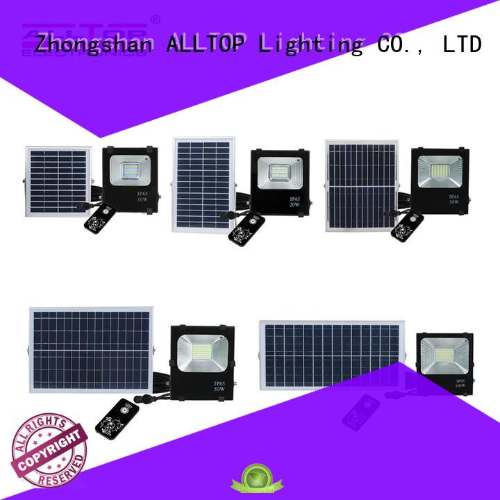 solar powered flood lights outdoor outdoor brightness for spotlight ALLTOP