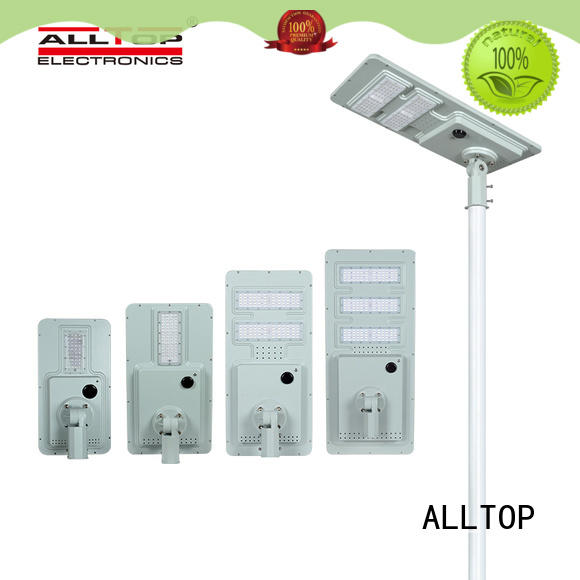 all in one solar street courtyard light flood for road ALLTOP