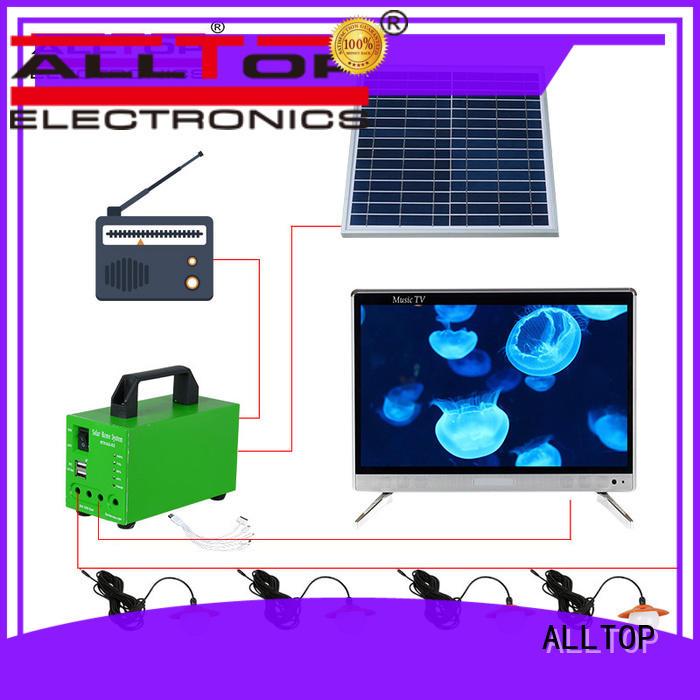 New product solar energy powered 10w 24w 35w 80w solar system