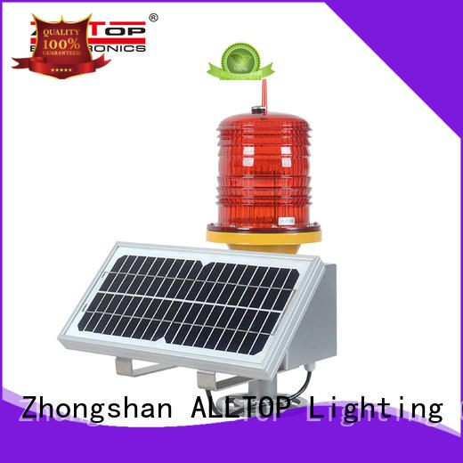 ALLTOP solar traffic light factory for factory