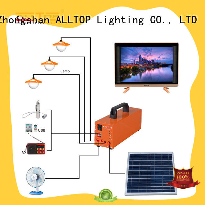 12v solar lighting system mini for home ALLTOP