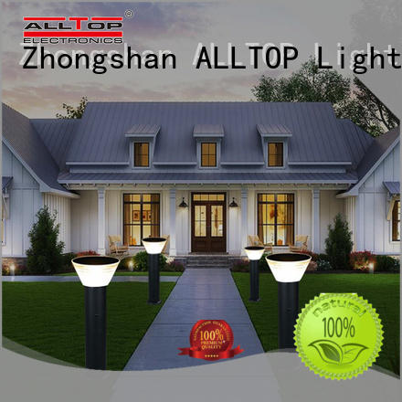 classical solar garden lamps main gate for decoration ALLTOP