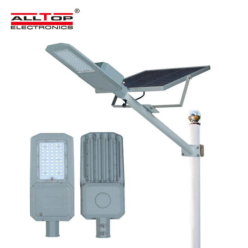 ALLTOP 30w solar street light shining rightness for playground-1