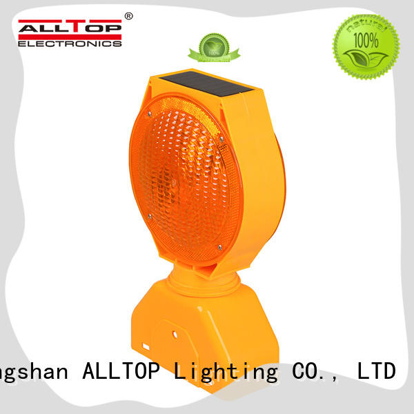 solar traffic light led for safety warning ALLTOP