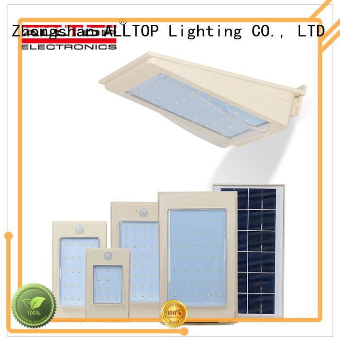 ALLTOP solar pir wall light manufacturer highway lighting
