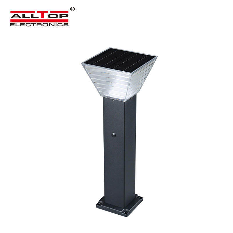 ALLTOP outdoor 5 watt intergrated all in one led solar garden light-3